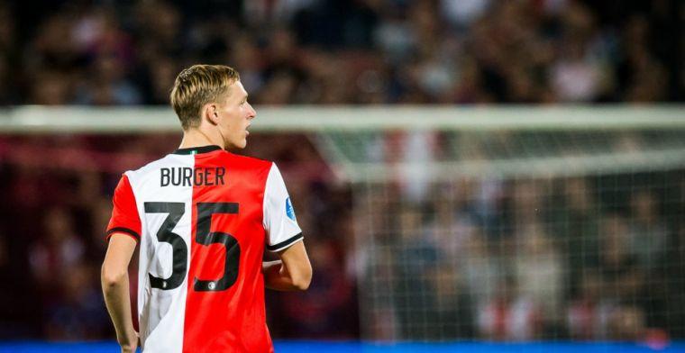 Feyenoord-debutant (17): 'Ik keek altijd naar de spelers, nu keken ze maar mij'