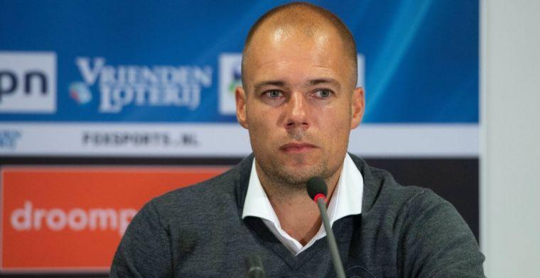 Buijs over opvallend 'blessure'-moment Groningen: 'Kwam voor ons wel handig uit'