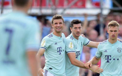 Afbeelding: DFB Pokal: Bekerwinnaar Frankfurt blameert zich, Brenet scoort bij debuut