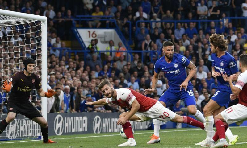 Afbeelding: Chelsea verslaat stadsgenoot Arsenal in heerlijke wedstrijd: 3-2