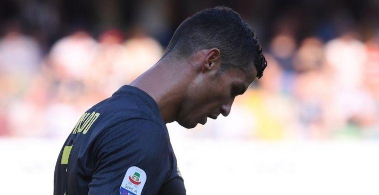 Gris debut de Cristiano con la Juventus sin gol