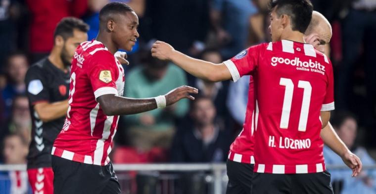 LIVE-discussie: PSV ongewijzigd tegen Fortuna, Luckassen niet bij selectie