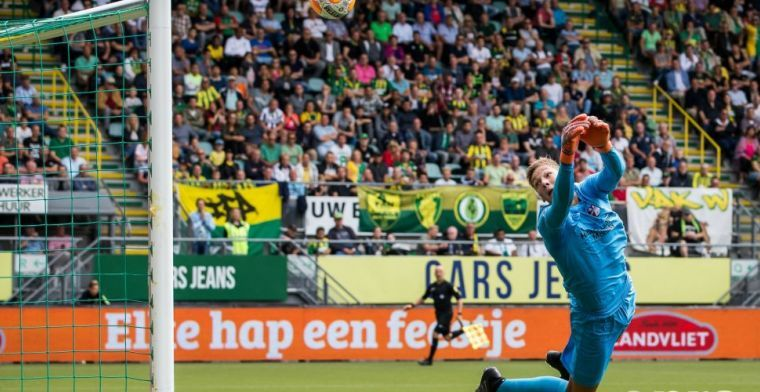 'Toekomstig doelman Oranje' blij met compliment Verbeek: 'Mooi als hij dat zegt'