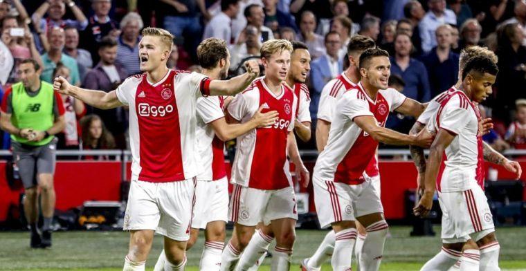 LIVE-discussie: Ajax met dezelfde elf tegen VVV als tegen Standard