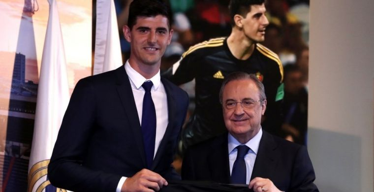 El dorsal con el que podría debutar Courtois en el Real Madrid