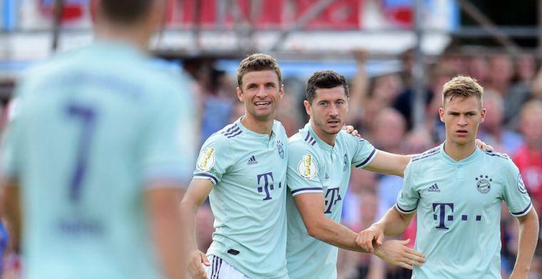 DFB Pokal: Bekerwinnaar Frankfurt blameert zich, Brenet scoort bij debuut