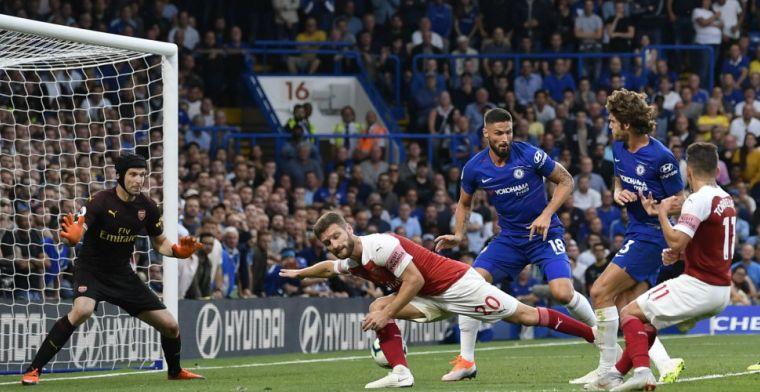 Chelsea verslaat stadsgenoot Arsenal in heerlijke wedstrijd: 3-2