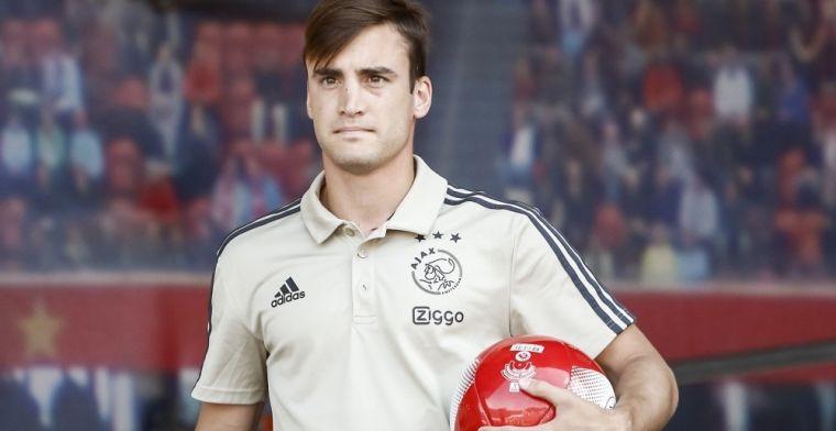Tagliafico rechaza al Betis: Me quedo en el Ajax
