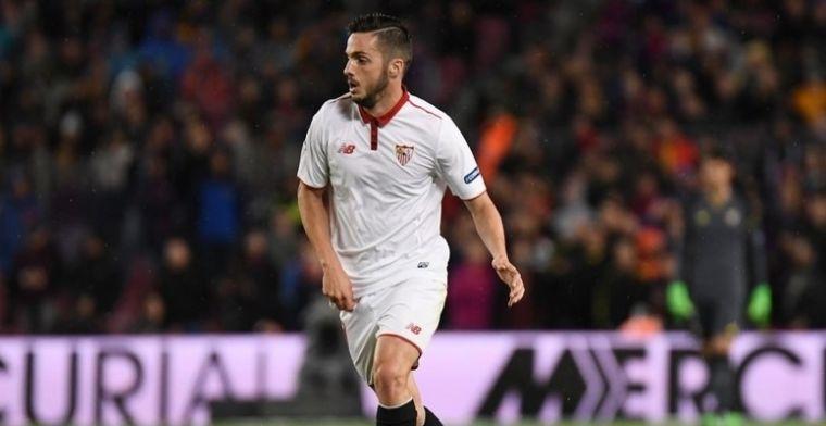 Sarabia tiene contrato con el Sevilla y su deseo es quedarse