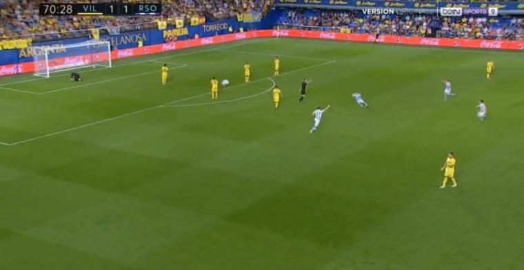 GOL | ¡Segundo error defensivo del Villarreal que no desaprovecha Juanmi! (1-2)