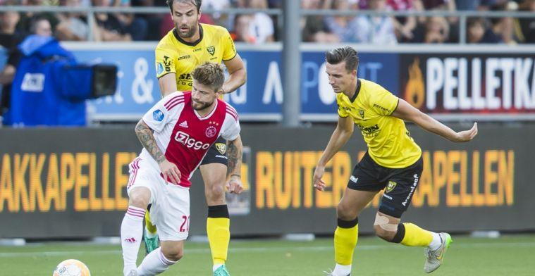Ajax wordt twee keer gered door videoscheids en verslaat VVV in extremis