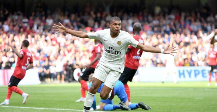 'Gouden' Mbappé redder van Paris Saint-Germain met twee goals in slotfase
