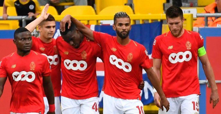 Standard spoelt Champions League-uitschakeling door met zege tegen Lokeren