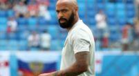 Imagen: Thierry Henry suena para el banquillo de un equipo francés