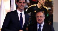 Imagen: El dorsal con el que podría debutar Courtois en el Real Madrid