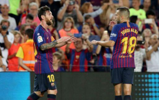 Afbeelding: Jubileumdoelpunt Messi zet Barcelona op goede spoor tegen Alavés