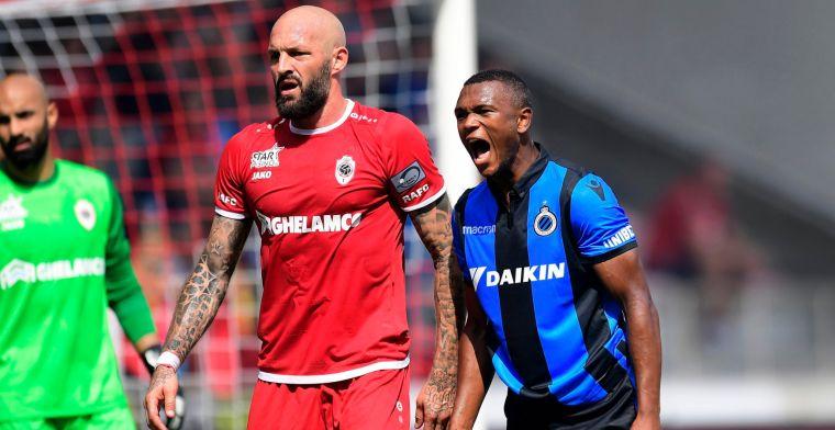 Antwerp en Club Brugge delen de punten na beladen confrontatie