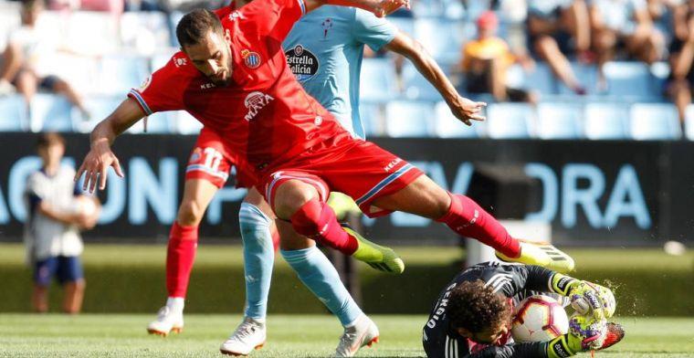 Borja Iglesias se defiende de los pitidos de Balaídos