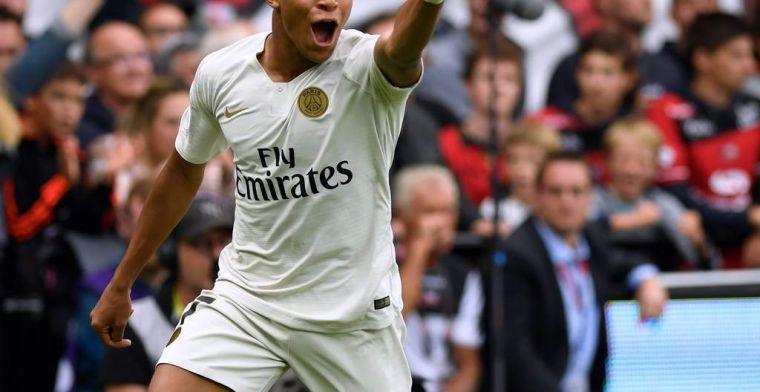 Mbappé eclipsa a Neymar en el debut liguero del PSG