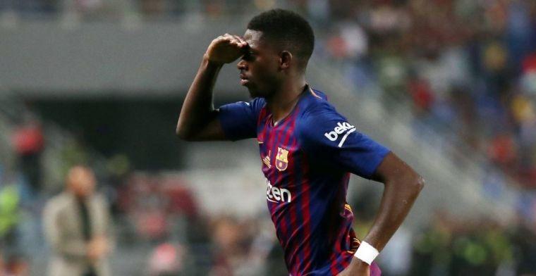 Dembelé empieza a sentirse titular en el Barcelona