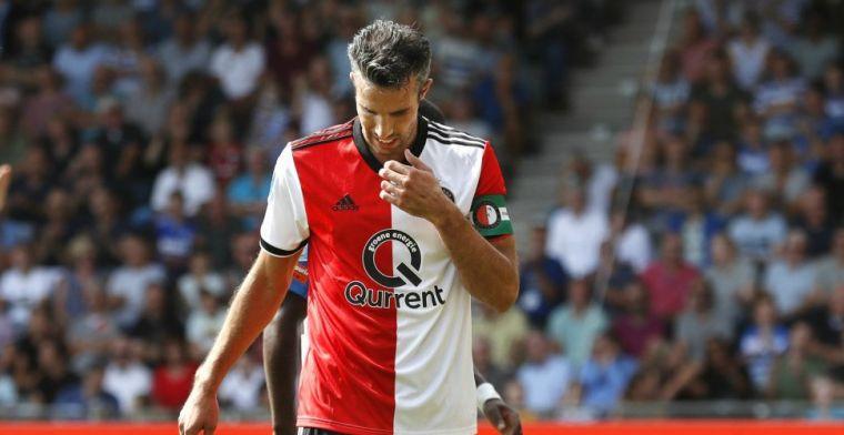 LIVE-discussie: Feyenoord met Van Persie, Van Beek vervangt Botteghin