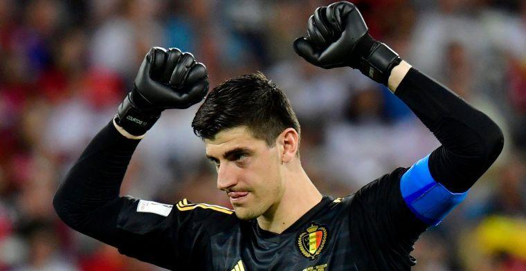 UPDATE: Courtois begint tijdperk bij Real Madrid vanop de bank
