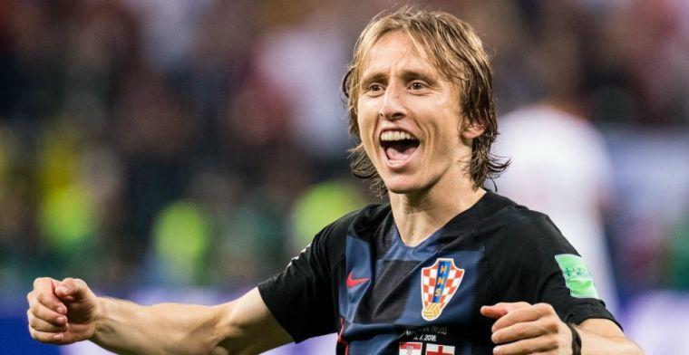 Modric ontkent contact te hebben gezocht met Inter: 'Grootste onzin ooit'