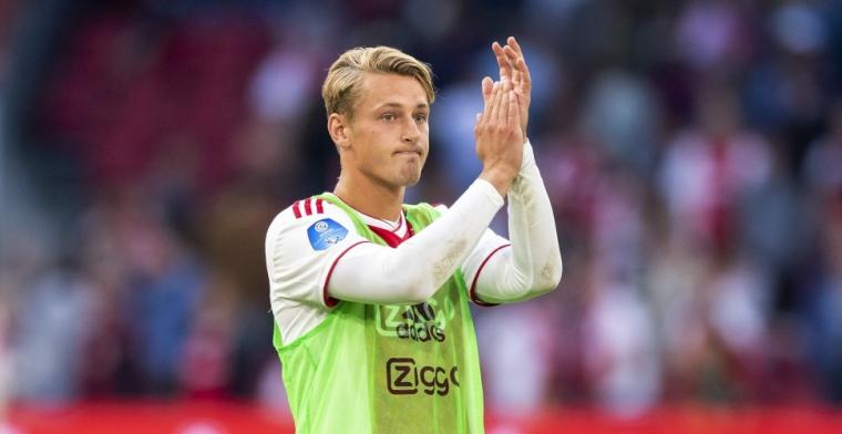 'Ajax wil aflopend contract van Dolberg-stand-in openbreken en verlengen'