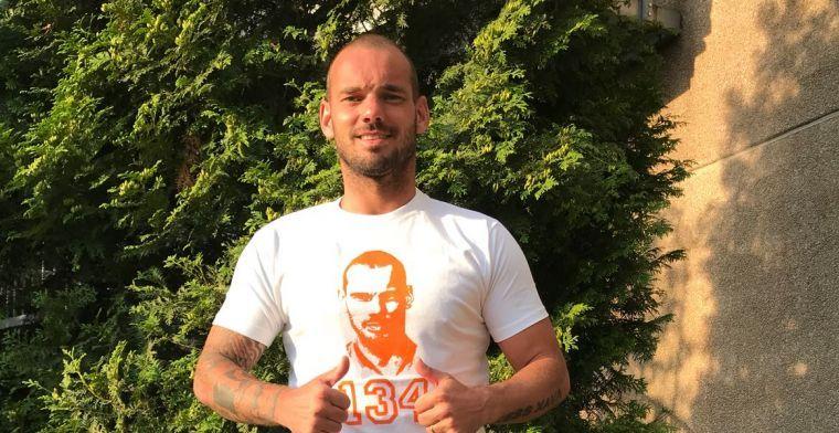 Afscheidswedstrijd Sneijder steeds dichterbij: koop nu het speciale afscheidsshirt