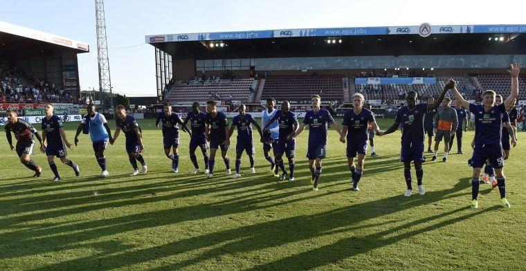 Anderlecht boekt forfaitzege, twee nieuwkomers pikken goaltje mee