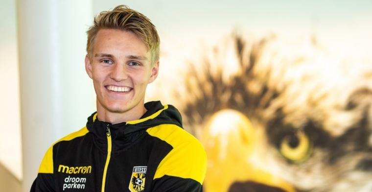 Odegaard mag bij Vitesse op 10 spelen: 'Daar kan hij van goud zijn voor Vitesse'