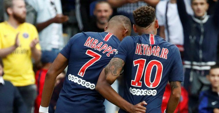 PSG-debutant veroorzaakt direct penalty, maar wordt gered door supertrio
