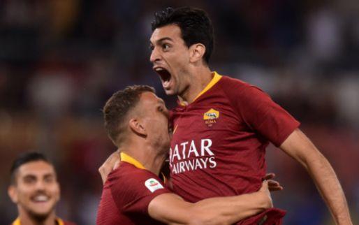 Afbeelding: Roma vecht zich met invaller Kluivert terug van 1-3 achterstand
