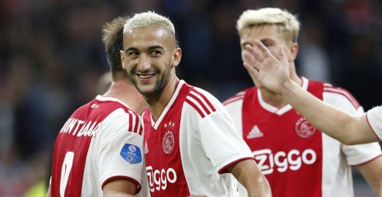 'Ajax moet financieel plaatje Ziyech razendsnel gelijk trekken met Tadic en Blind'