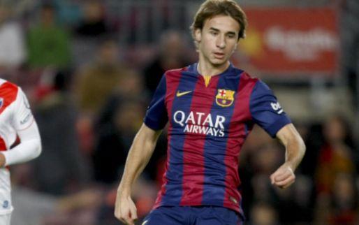Image: OFICIAL l Sergi Samper se queda en el FC Barcelona con dorsal del primer equipo