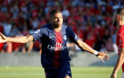 Afbeelding: Paris Saint-Germain wint van Nimes: wraakactie Neymar, Mbappé pakt rood