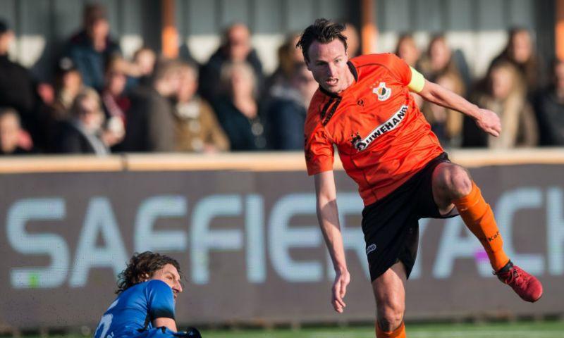 Afbeelding: Katwijk-captain na vechtpartij: 'Hij vindt dat nodig, dan krijg je zulke dingen'