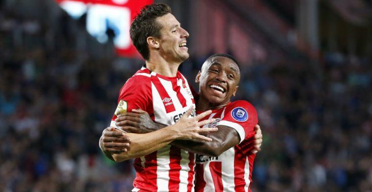 PSV vermorzelt Willem II in voetbalshow: twee goals Bergwijn en Viergever