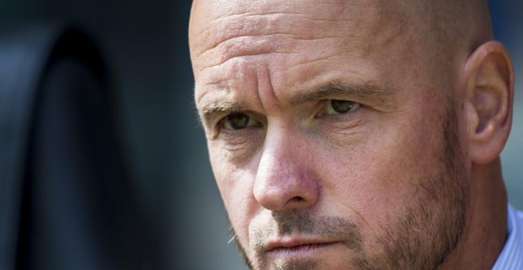 Ten Hag looft De Jong bij Studio Voetbal: Kunt hem nauwelijks onder druk zetten