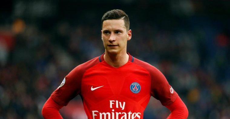 Draxler over terugkeer naar Duitsland: 'Ik heb nooit contact gehad met Bayern'
