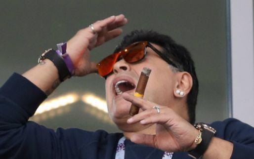 Afbeelding: Maradona laat wit-Rusland alweer achter zich en gaat aan de slag in Mexico