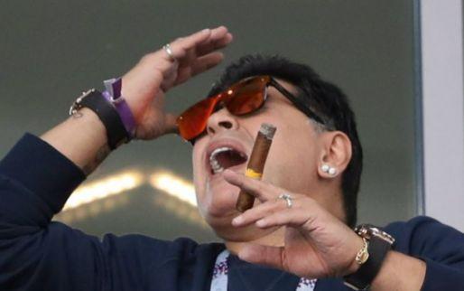 Afbeelding: Wit-Russen stomverbaasd over vertrek Maradona: 'Nieuws via de media vernomen'