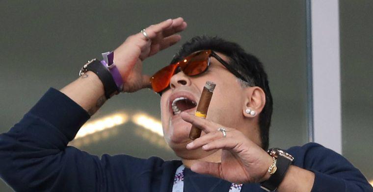 Maradona laat wit-Rusland alweer achter zich en gaat aan de slag in Mexico