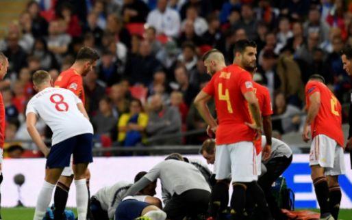 Afbeelding: Engeland haalt opgelucht adem na nare blessure Shaw: 'Ik ben een vechter'