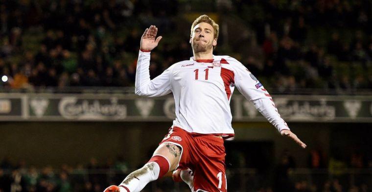 'Beschonken Bendtner breekt kaak van taxichauffeur in Kopenhagen'