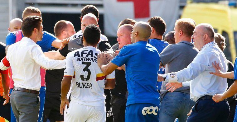 UPDATE: Vanderbiest krijgt handje hulp van ref: 'Geen racistische opmerkingen'