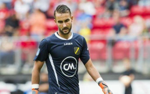 Afbeelding: Doelman Birighitti vindt nieuwe club na teleurstellend jaar bij NAC Breda