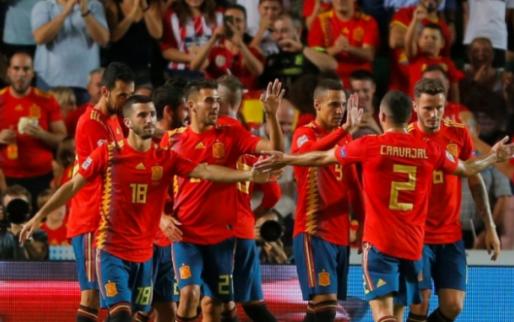 Afbeelding: Spanje blinkt uit en stuurt Kroatië met grootste nederlaag ooit naar huis