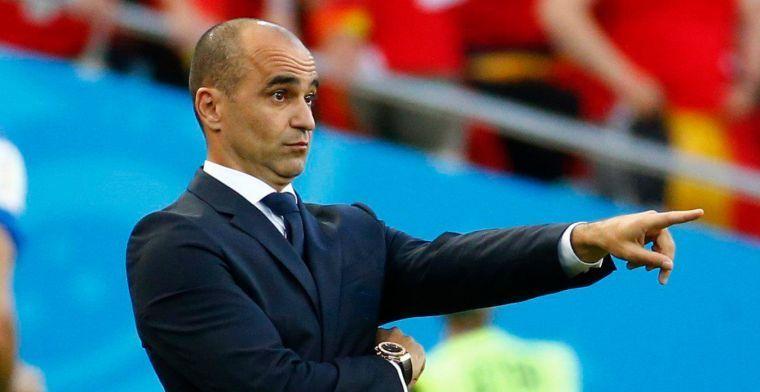 Martinez geeft meer duiding bij basiself: 'Hij zorgt voor balans in de ploeg'