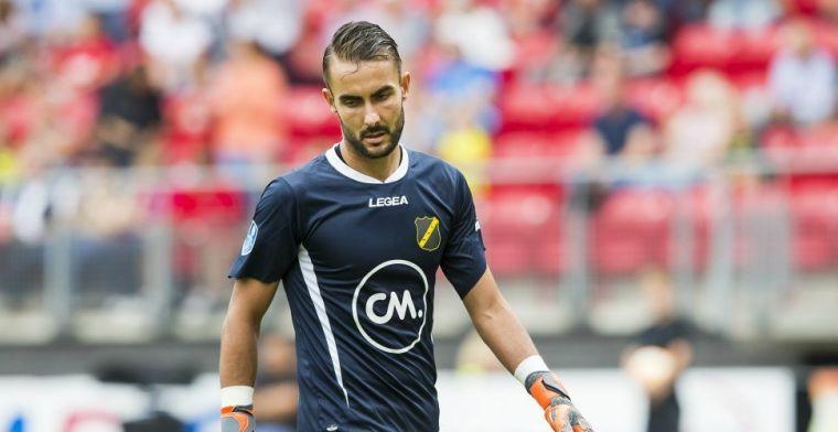 Doelman Birighitti vindt nieuwe club na teleurstellend jaar bij NAC Breda